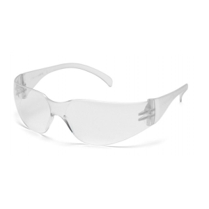 PYRAMEX INTRUDER SAFETY SPECS CLEAR WITH CLEAR LENS