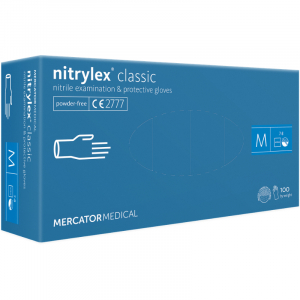 ANSELL DISPOSABLE NITRILE GLOVES BLUE BOX/100 SZ L