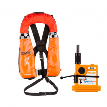 SMRT WIND 275N SOLAS PFD LIFEJACKET WITH AU10 PLB