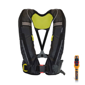 SPINLOCK DURO SOLAS 275N LIFEJACKET TWIN CHAMBER & MOB1 BOM
