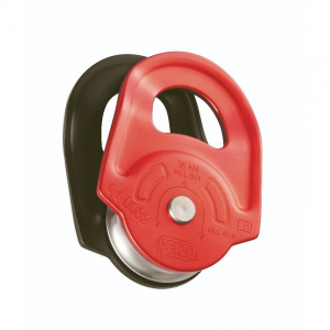 PETZL RESCUE HIGH STRENGTH PULLEY RED