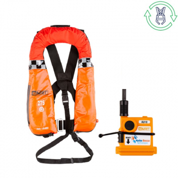 HIRE SMRT WIND 275N SOLAS PFD AU10 PLB LIFEJACKET