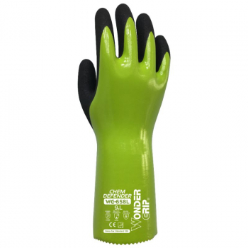 WONDERGRIP CHEM DEFEND NITRILE COAT 30CM GLOVE